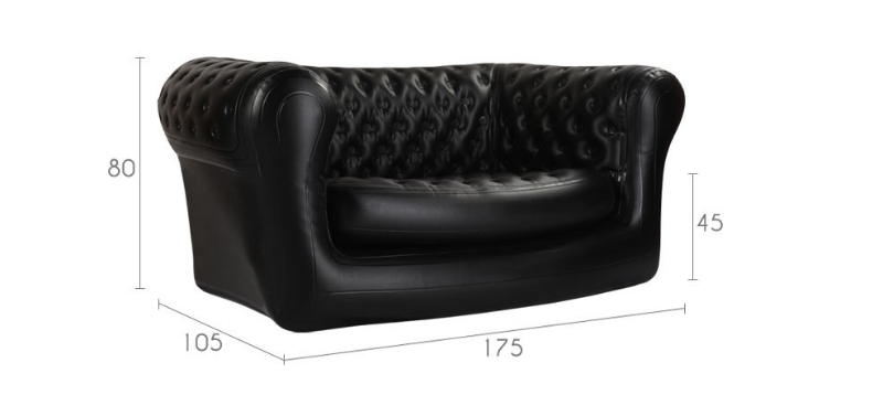 Canap chesterfield gonflable mon coin designmon coin design - Canape chesterfield gonflable ...
