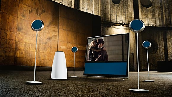 enceintes design beolab 14 par bang olufsenmon coin design. Black Bedroom Furniture Sets. Home Design Ideas