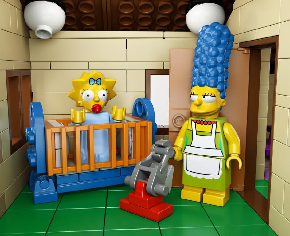 Avis aux fans de la s  233 rie   un   233 pisode m  234 lant Simpsons et Lego sera    Lego Simpsons House