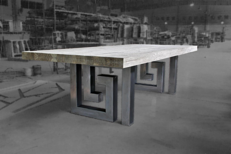 Un fabricant de meuble belge pas comme les autres mon for Table industrielle design