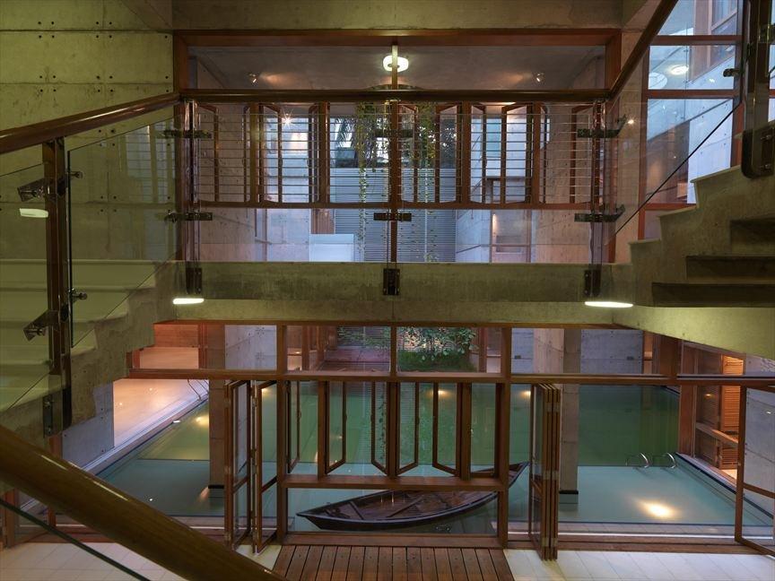 Sa residence la maison quip e d 39 un lagon mon coin - La residence kitchel par boora architects ...