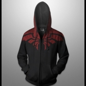 sweat à capuche de spiderman