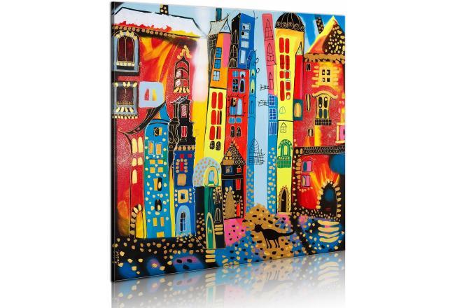 Les plus beaux papiers peints et tableaux enfants sont ici mon coin design - Tableaux modernes colores ...