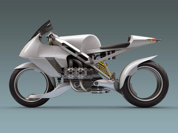 moto futuriste