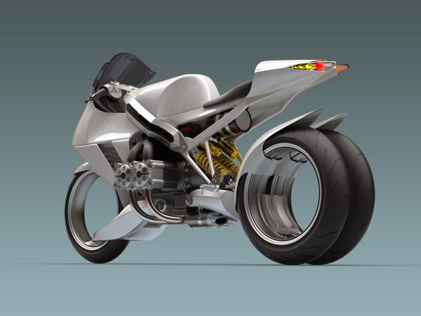 moto sans fourche