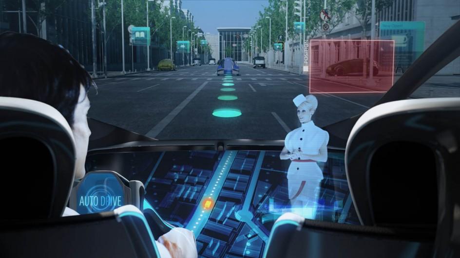 voiture high-tech