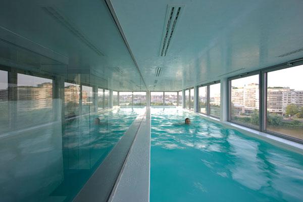 un penthouse avec piscine en plein coeur de nantes mon. Black Bedroom Furniture Sets. Home Design Ideas