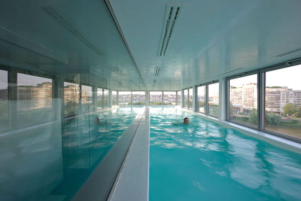 Un penthouse avec piscine en plein coeur de nantes mon for Piscine 6eme