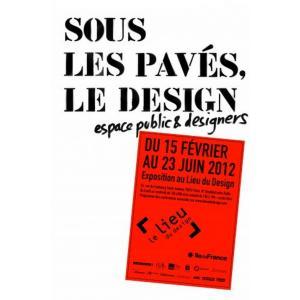exposition sous les paves le design au lieu du design à Paris