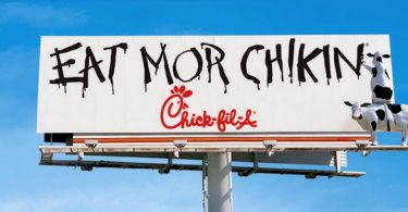 Chick Fill A un fast food américain spécialisé dans les burgers au poulet