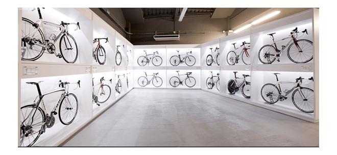 magasin pave culture cycliste à Barcelone