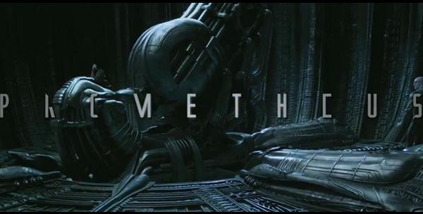 prometheus le film de Ridley Scott et HR Giger