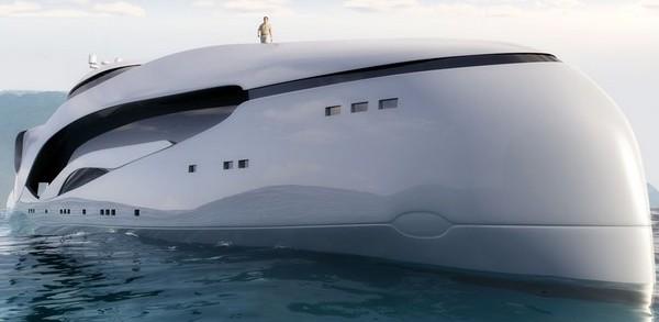 superyacht futuriste oculus