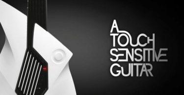 guitare futuriste légère et fine