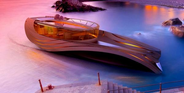 Cronos un concept de yacht écologique
