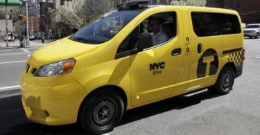 le nouveau taxi de new york par Nissan