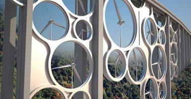 pont éolien et solaire The Solar Wind