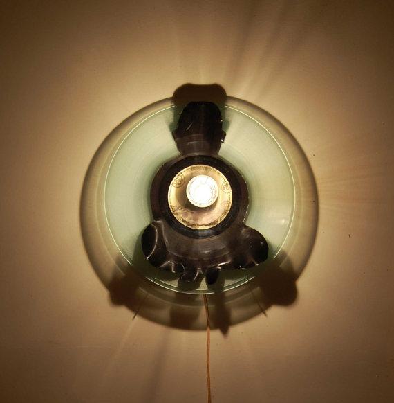 lampe design vintage par Laure Simoneau