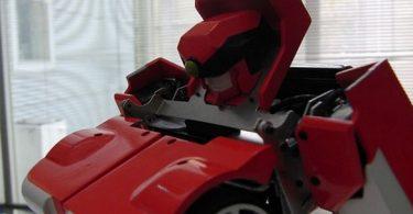 transformer Autobot par Kenji Ishida