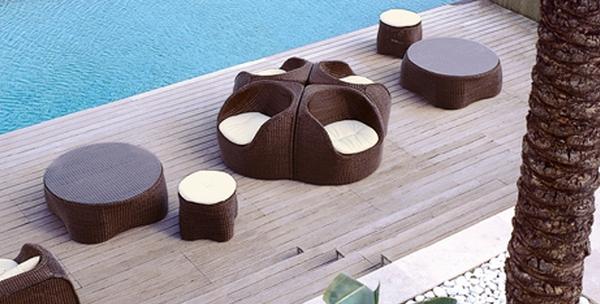 mobilier de jardin design par roberti mon coin designmon. Black Bedroom Furniture Sets. Home Design Ideas