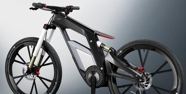 velo e-bike électrique par Audi