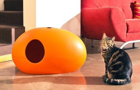 une liti re pour chat novatrice et design mon coin designmon coin design. Black Bedroom Furniture Sets. Home Design Ideas