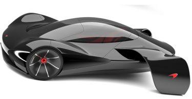 concept car électrique signé Mc Laren