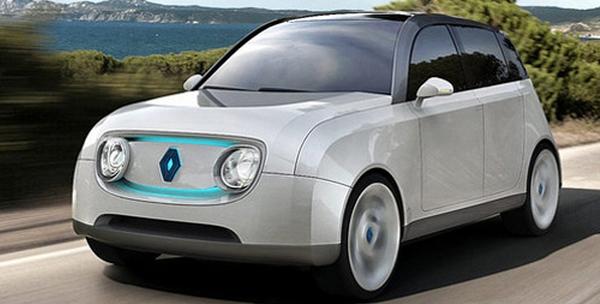 concept car Renault 4L électrique
