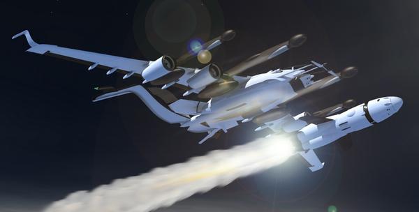 concept de vaisseau spatial