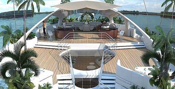 yacht de milliardaire