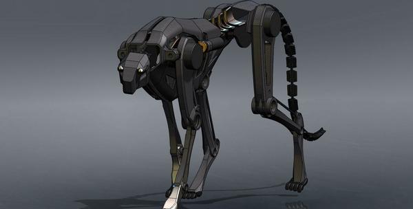 cheetah un robot-guepard imaginé par l'armée americaine