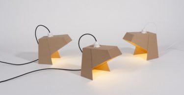 lampe en carton mylamp par madebywho