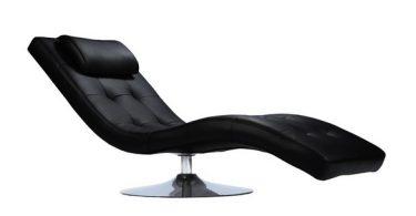 fauteuil relax simili cuir noir petit prix
