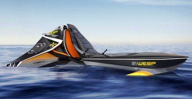 jet ski du futur par le designer daniel bailey