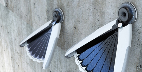 lampe solaire light bird par Jang Eun Hyuk