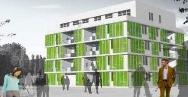La maison BIQ : une maison écologique et design imaginée par Splitterwerk Architectes