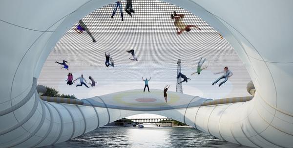 pont design insolite