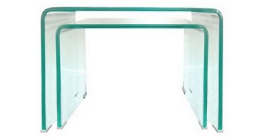 table basse gigogne en verre