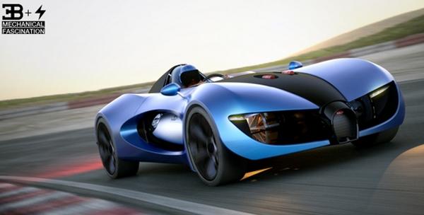 concept car bugatti type zero