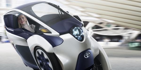 le dernier concept car toyota i-road