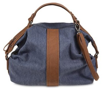 sac à main bleu design