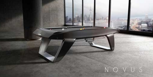 table de billard futuriste par cyrille durand