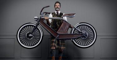 vélo vintage cykno au salon de milan 2013