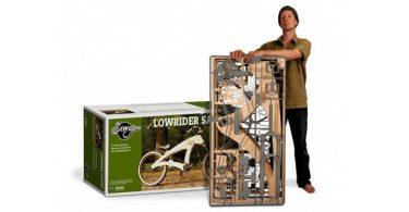 vélo en bois sawyer