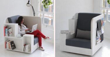 fauteuil bibliothèque OpenBook