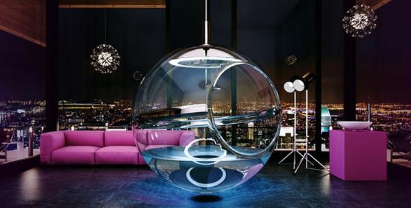baignoire design Bathsphere