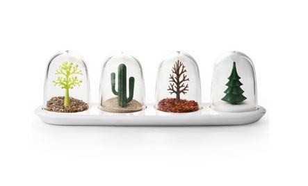 pots à épices arbres