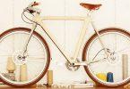 vélo urbain en bois Wooden Bicycle