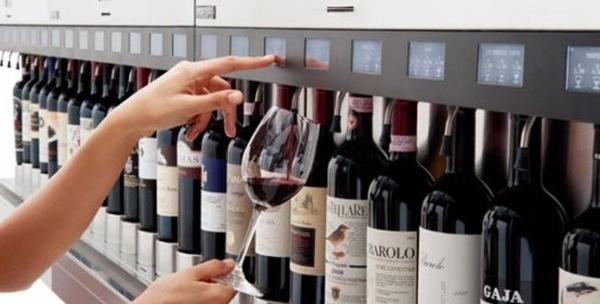 bar à vin automatisé à New York