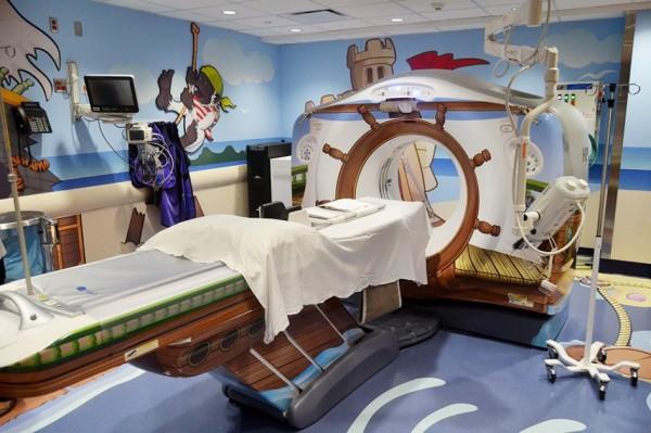 hôpital pour enfants insolite